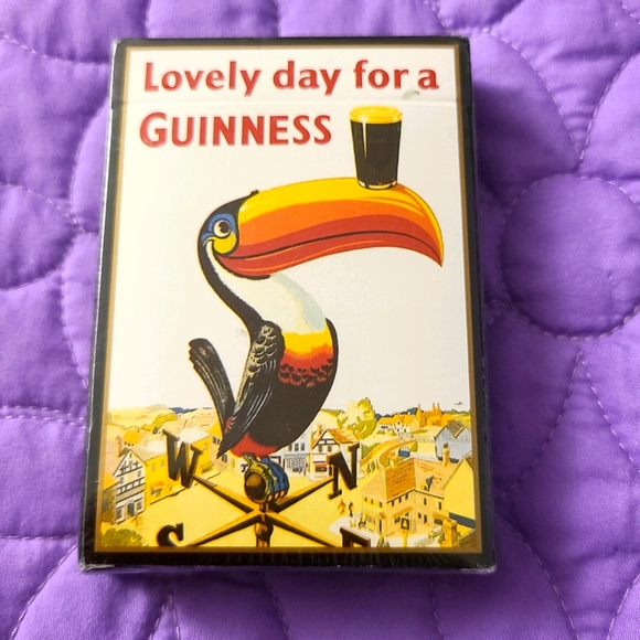 Guiness Playing Cards